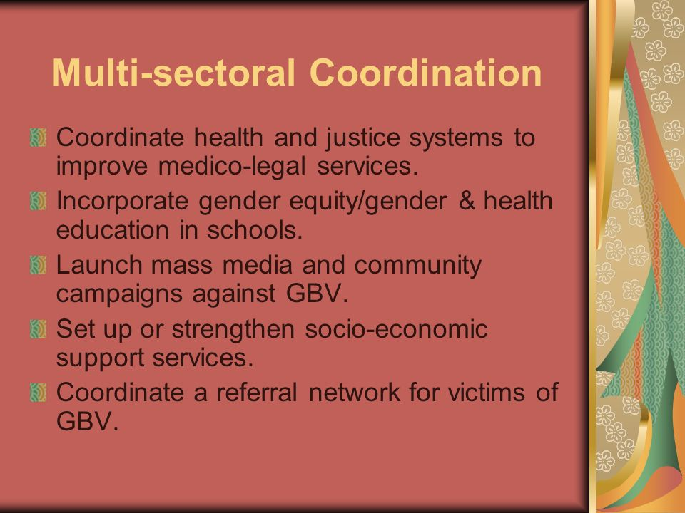 Multi-sectoral Coordination