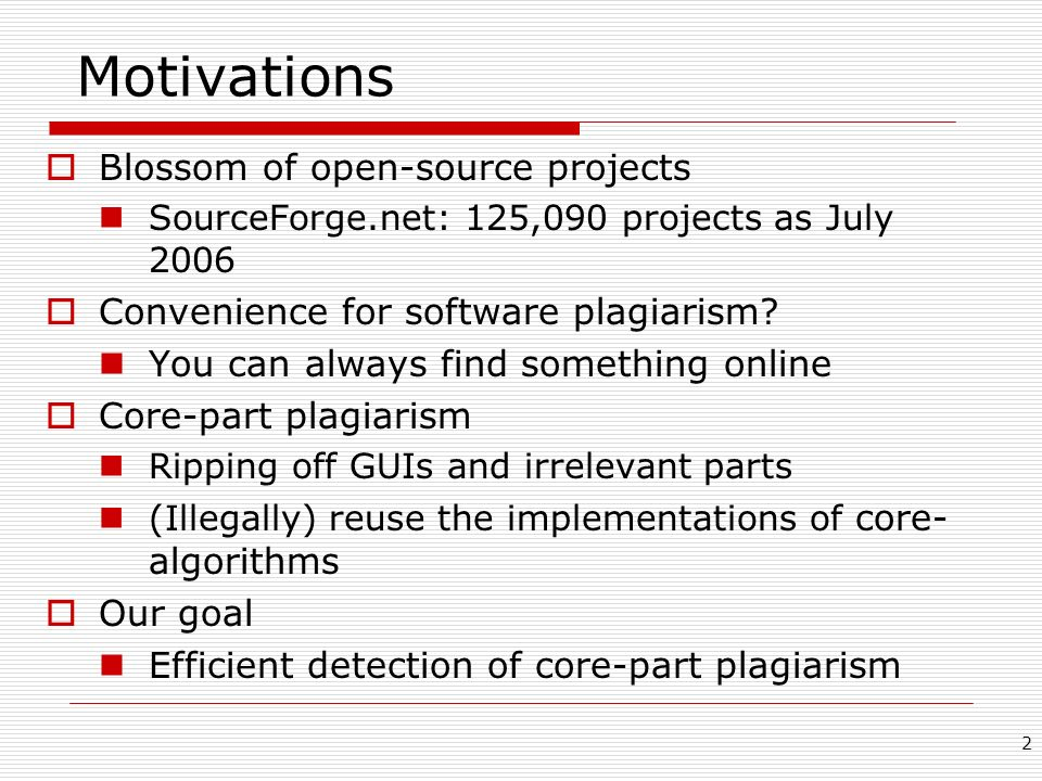 Motivations Blossom of open-source projects
