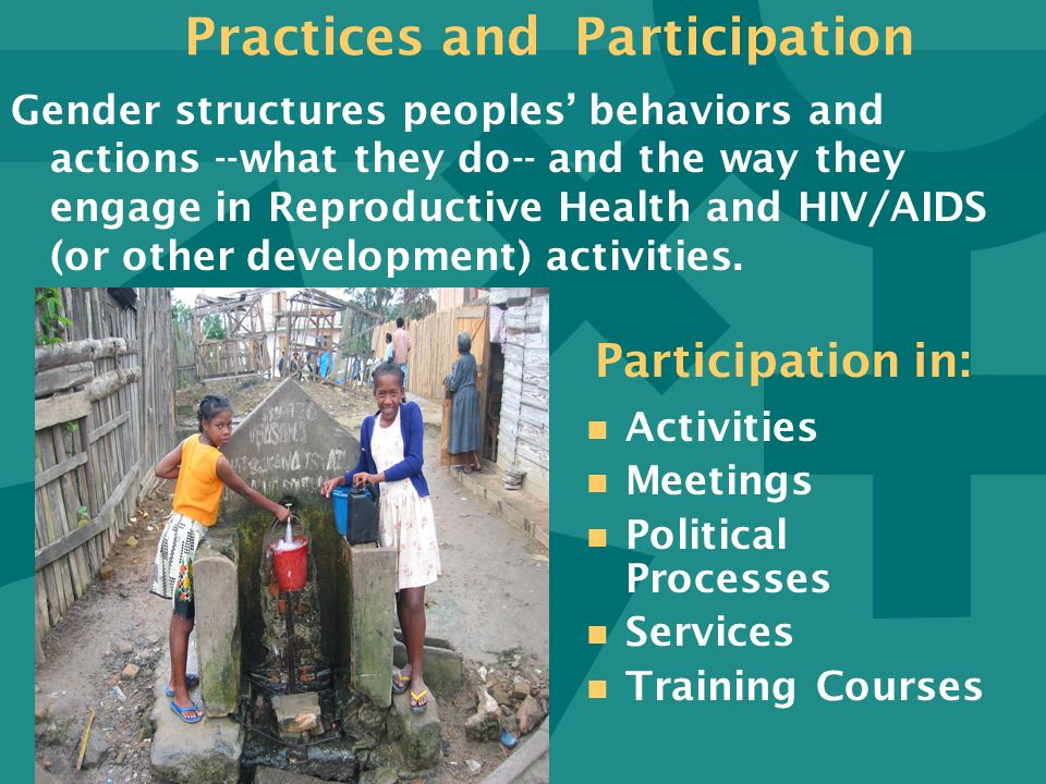 Practices and Participation