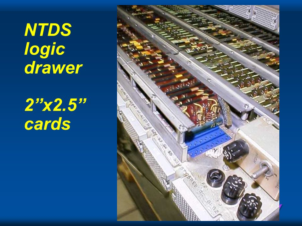 NTDS logic drawer 2 x2.5 cards
