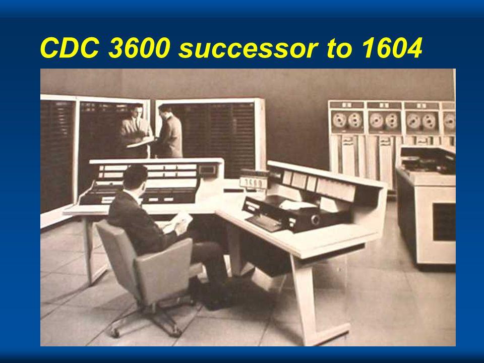 CDC 3600 successor to 1604