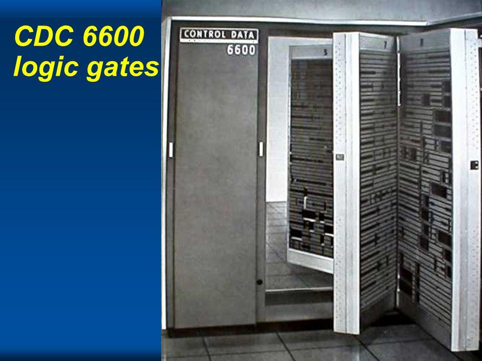 CDC 6600 logic gates