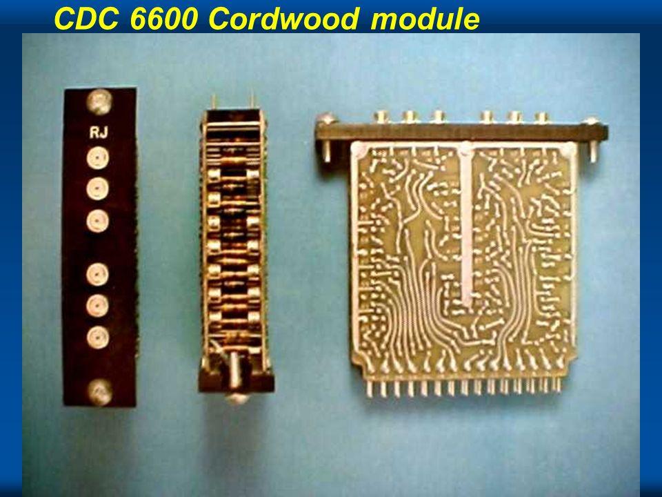 CDC 6600 Cordwood module