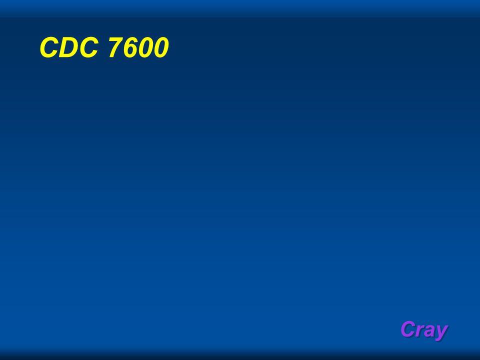 CDC 7600