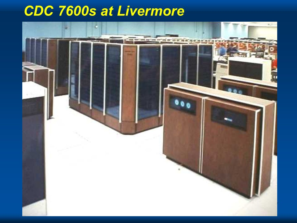 CDC 7600s at Livermore