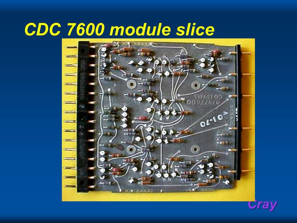 CDC 7600 module slice
