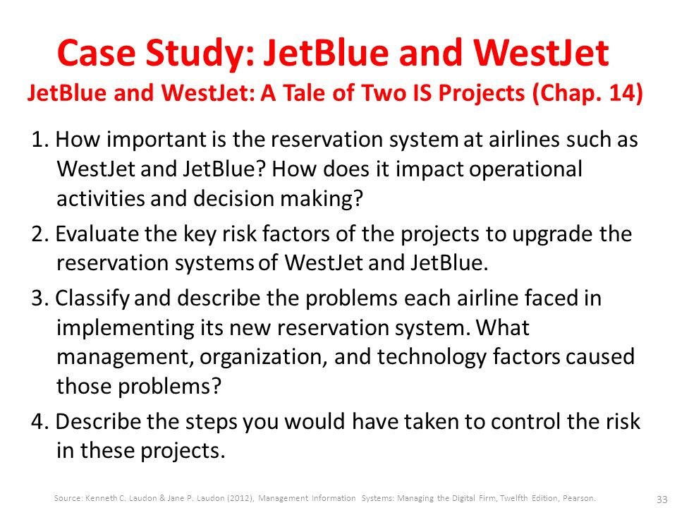 jet blue and westjet a tale of two is projects Jetblue and westjet: a tale of two is projects nathan nemitz it205 october 25, 2013 terra terralljetblue and westjet: a tale of two is projects 1 how important is the reservation system at airlines such as westjet and jetblue.