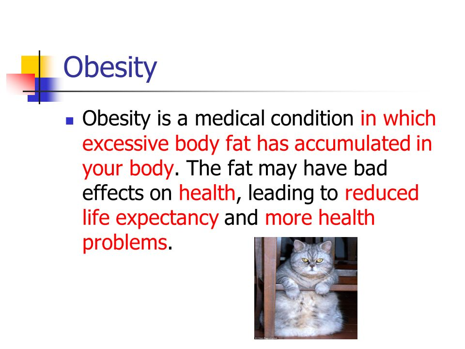 The Real Factors of Obesity - ppt video online download