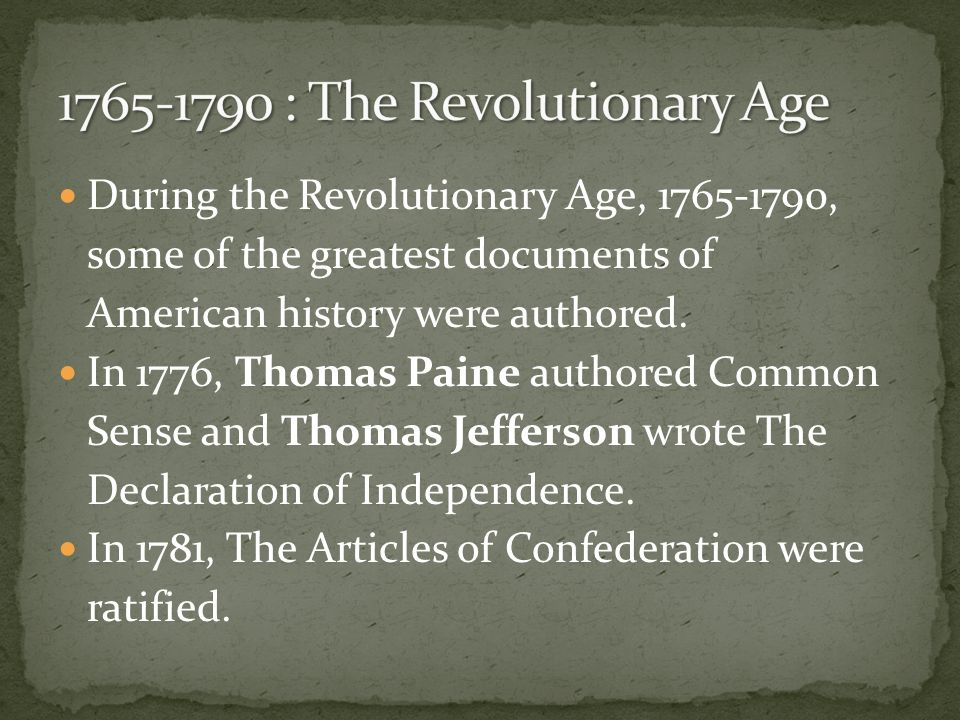 A literary analysis of thomas jeffersons declaration of independence