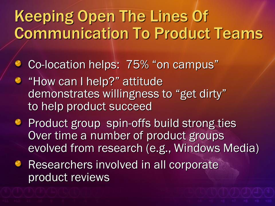 Keeping Open The Lines Of Communication To Product Teams