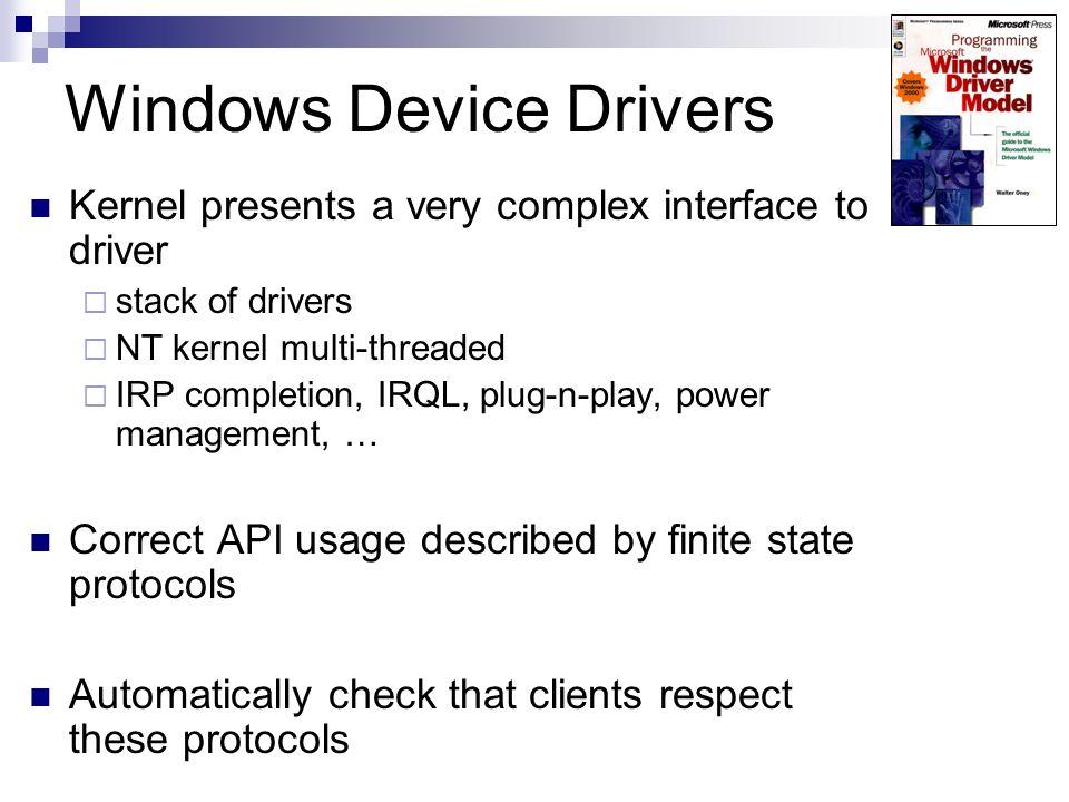 Windows Device Drivers