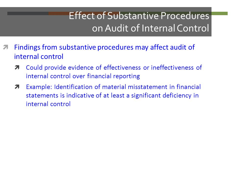 effect of internal controls on financial 11 background of the study internal control is define as the whole system of internal control, financial and otherwise established by management in order to carry on the business of the enterprise in an orderly manner and efficient, ensure adherence to management policies, safeguard the assets and.