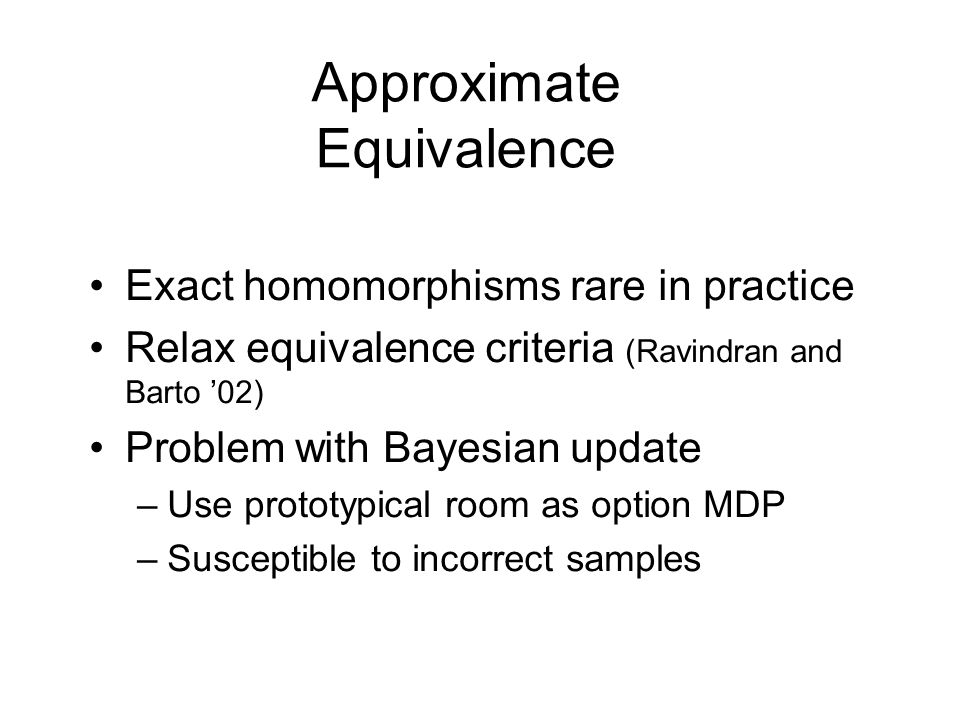 Approximate Equivalence