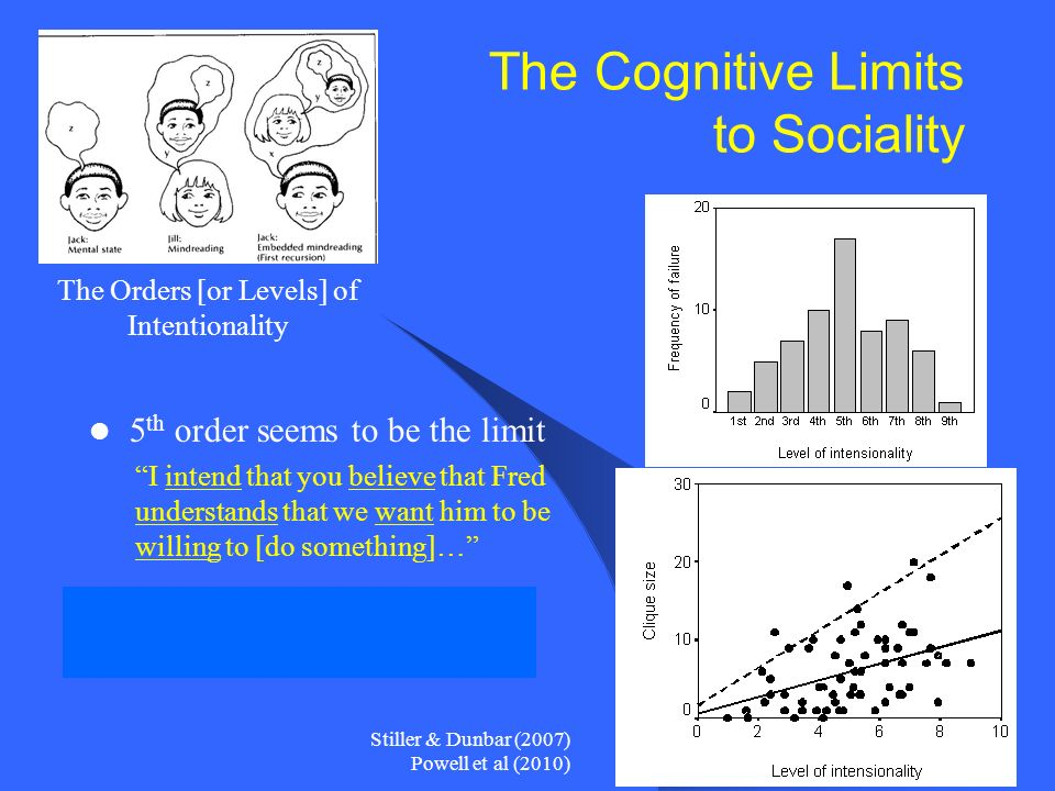 The Cognitive Limits to Sociality