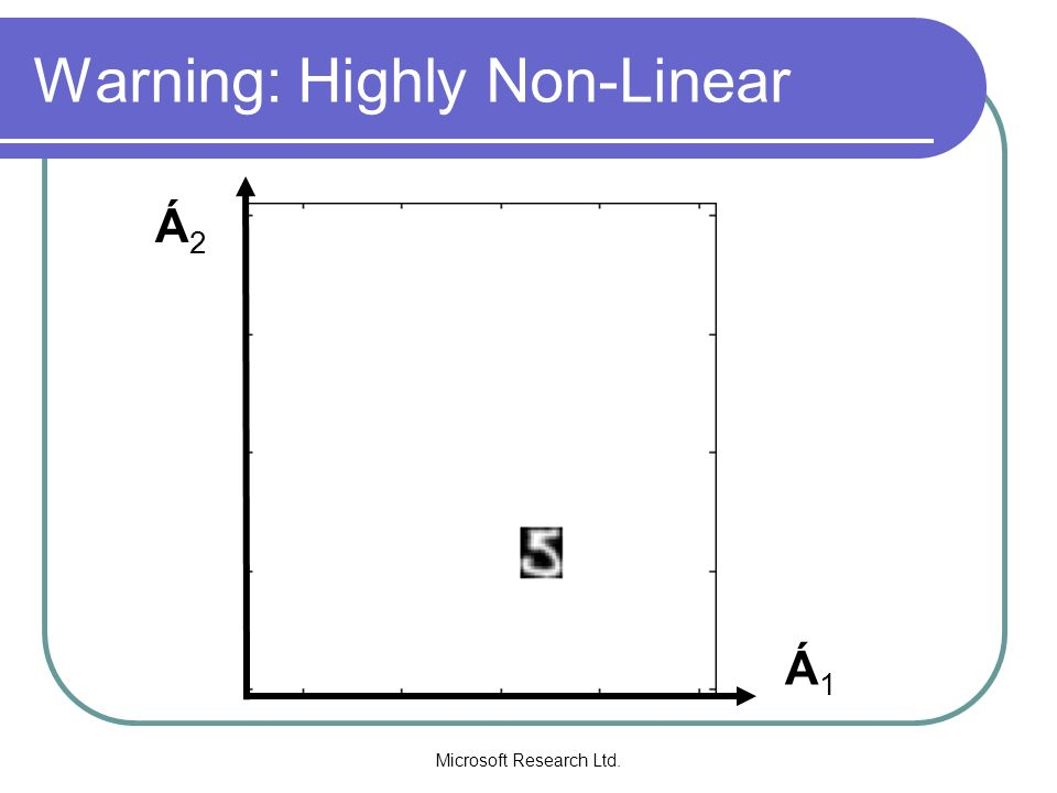 Warning: Highly Non-Linear