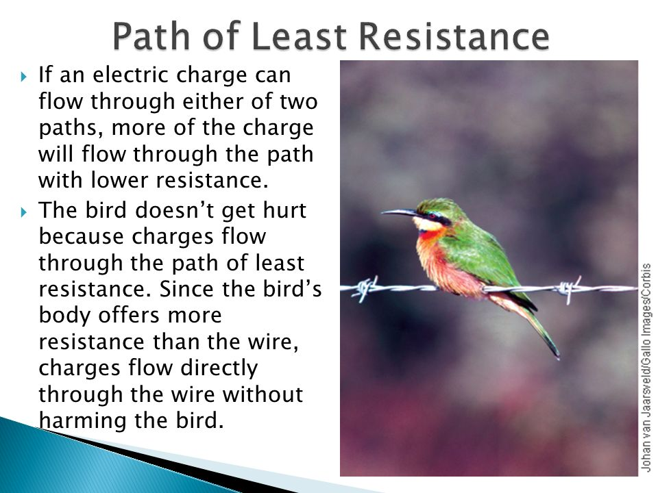 Path of Least Resistance
