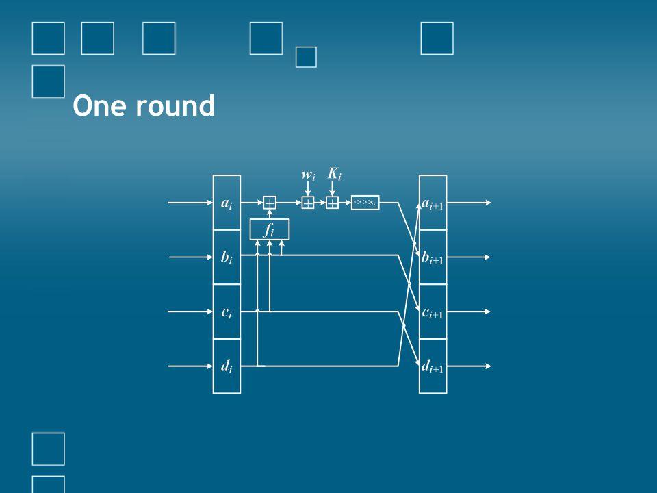 One round