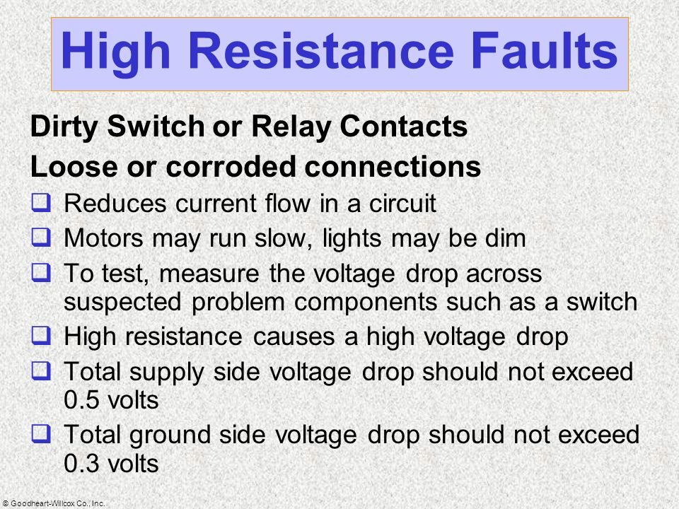 Electrical Fundamentals Ppt Video Online Download - Relay Contact Voltage Drop