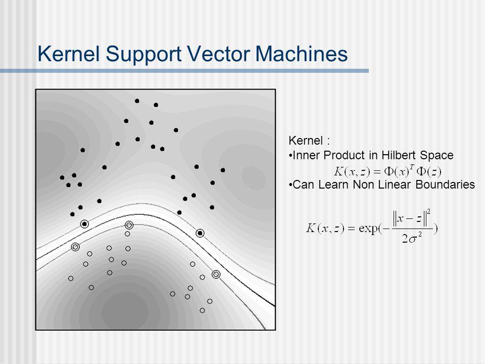 Kernel Support Vector Machines