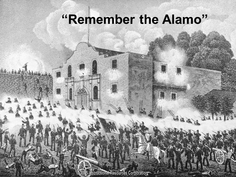 Why do we remember the Alamo?