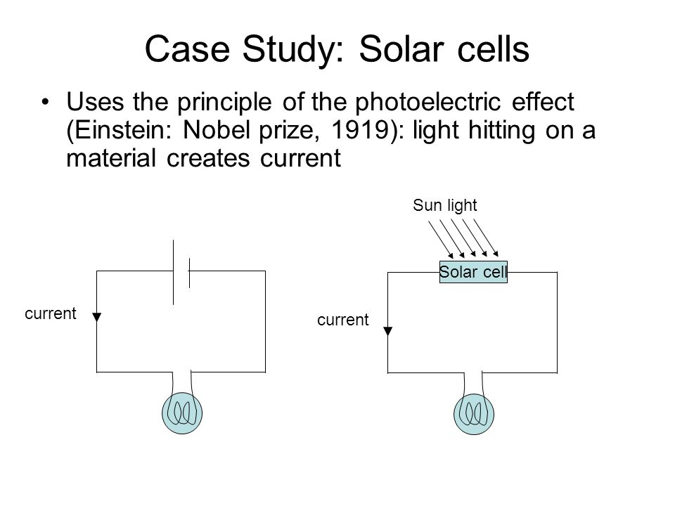 a study of solar cells Chinese researchers have taken what they say is a major step forward for the development of a new generation of solar cells manufacturers have long used silicon to make solar panels because the.