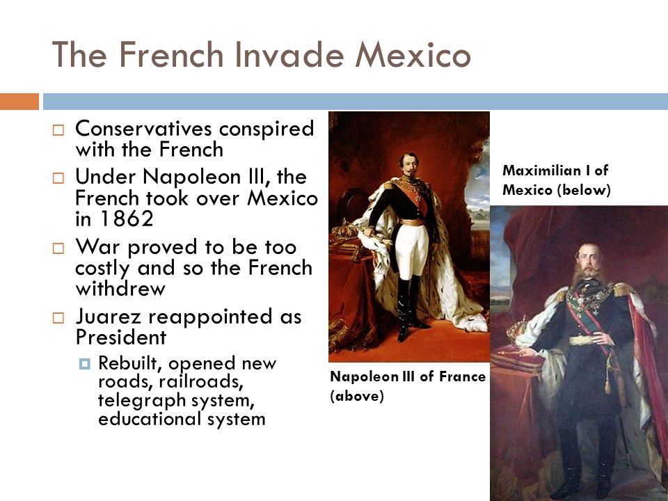The French Invade Mexico