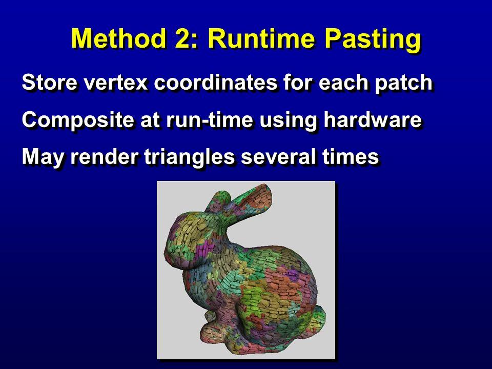 Method 2: Runtime Pasting