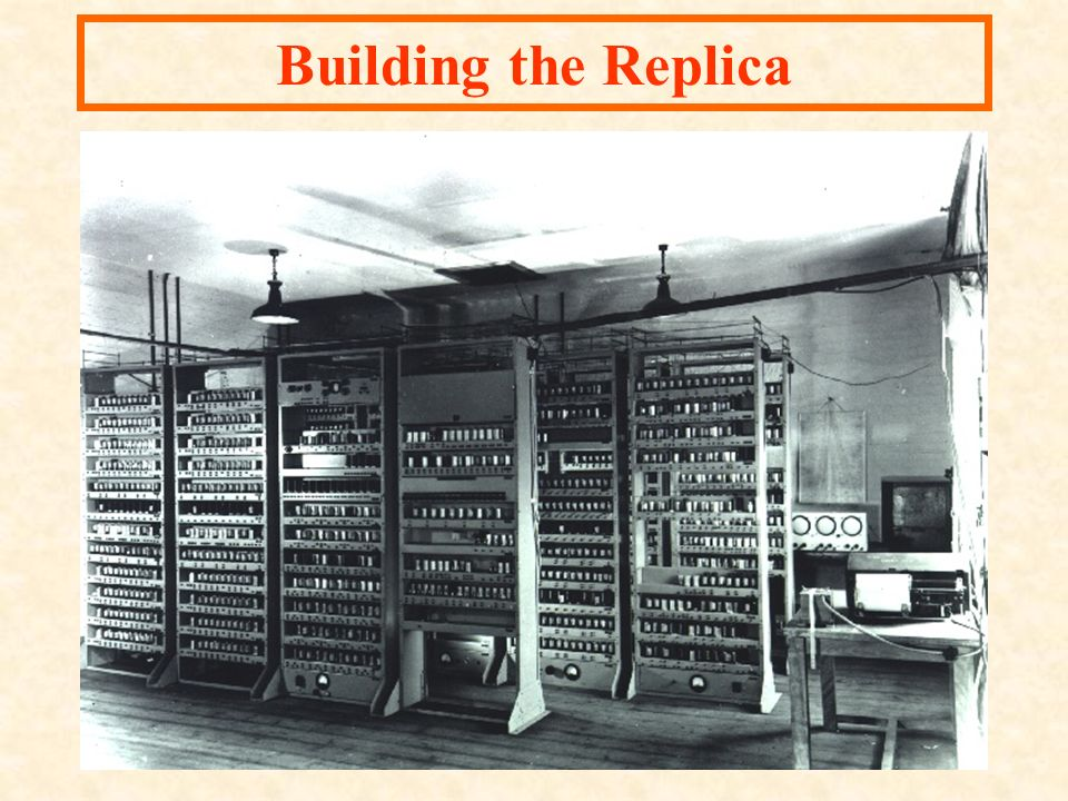 Building the Replica