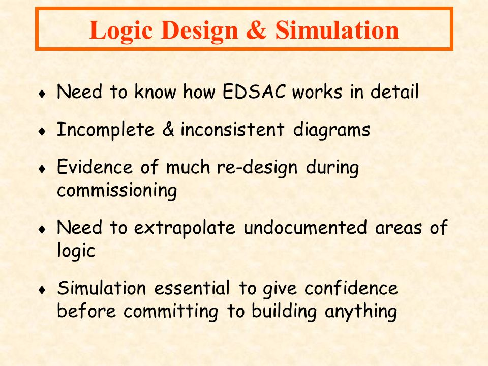 Logic Design & Simulation