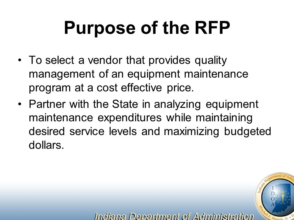 Equipment Maintenance Management Program Request for Proposal 9-36 on cost effecient, cost free, cost efficiency, cost of smoking, cost icon, cost reduction, cost quality, cost analysis, cost management,