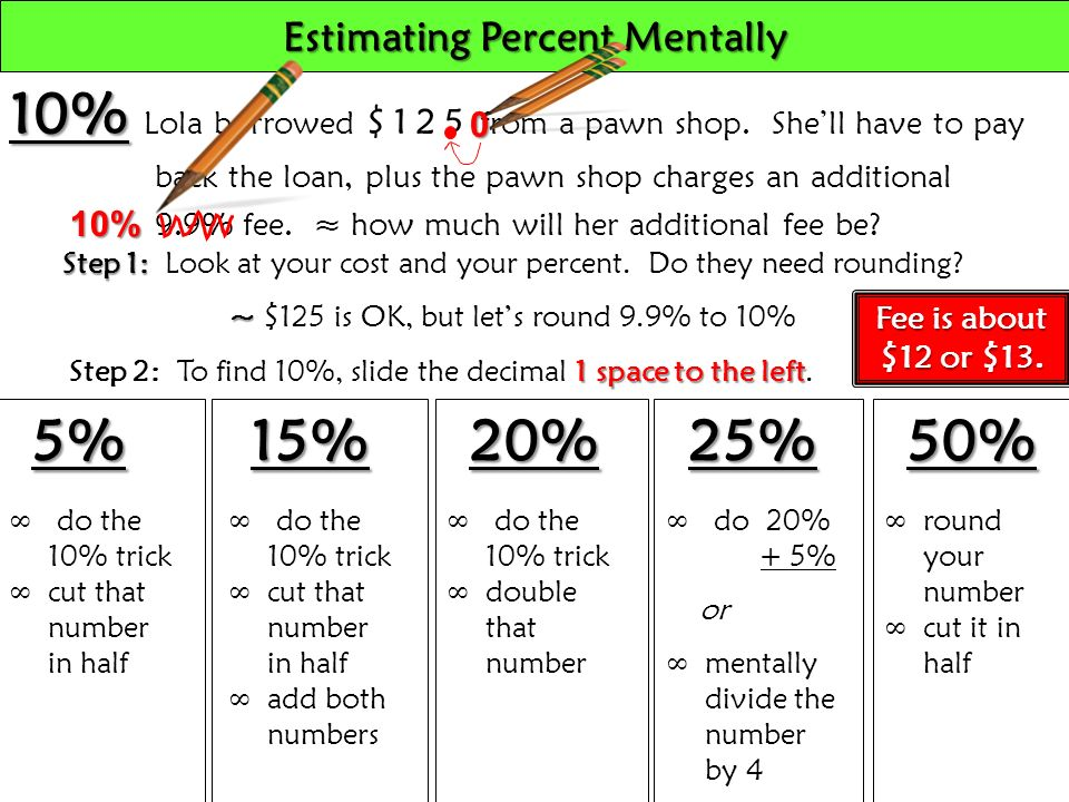 how to know the percentage of a number