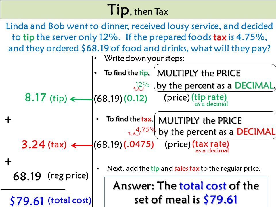 how to find the rate off of a sale price