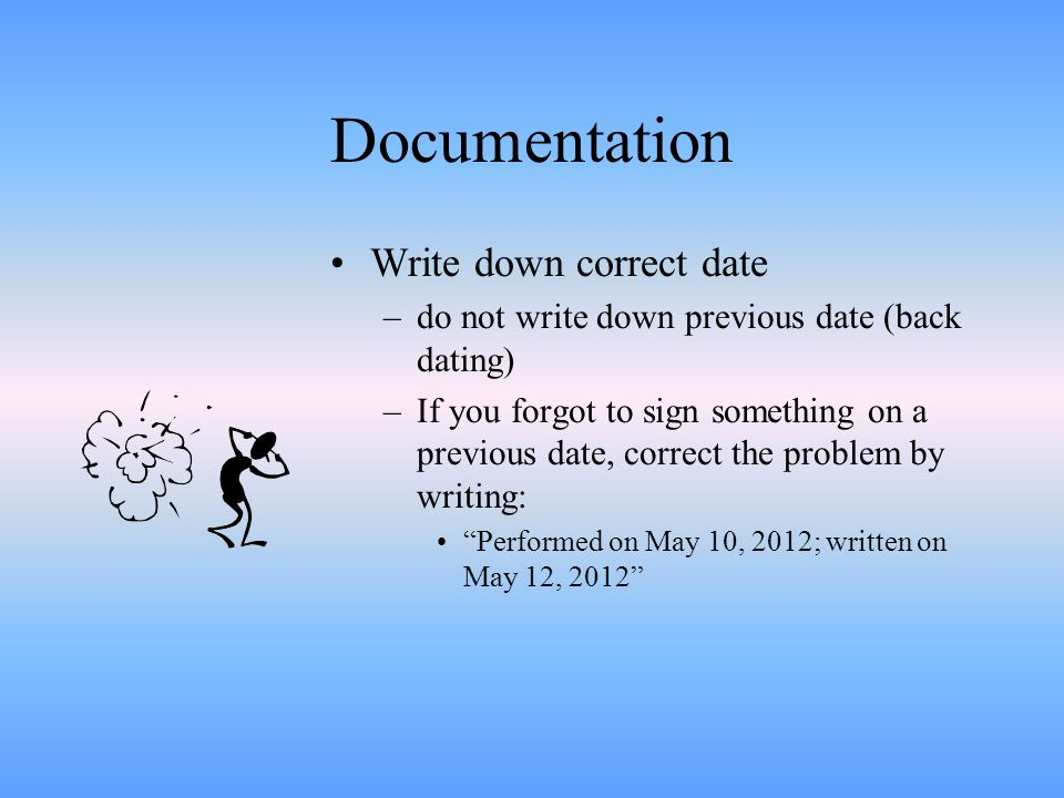 How to Formally Write the Date