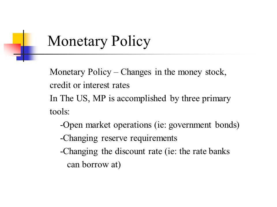recent changes in monetary policy in Monetary policy is how central banks manage liquidity to sustain a healthy economy 2 objectives, 2 policy types, and the tools used  this changes the reserve .