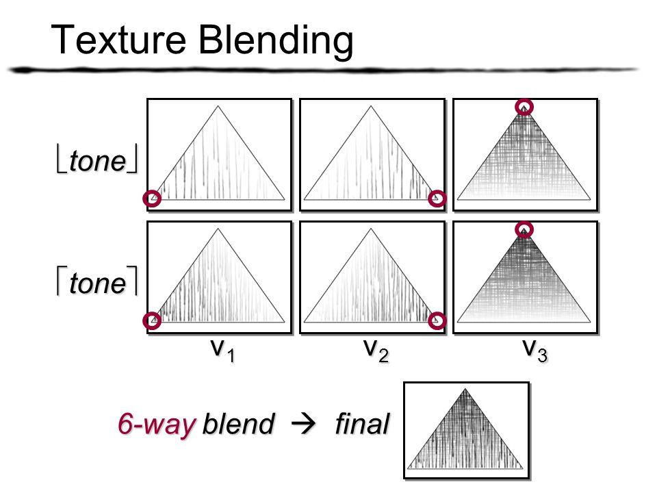 Texture Blending tone tone v1 v2 v3 6-way blend  final