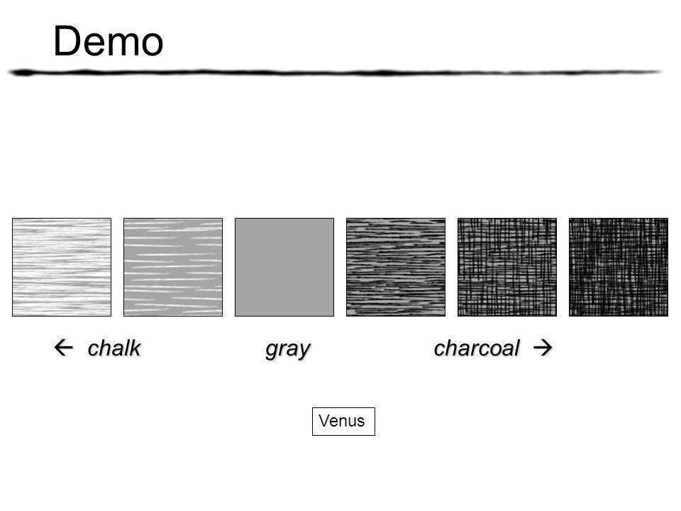 Demo  chalk gray charcoal  Venus