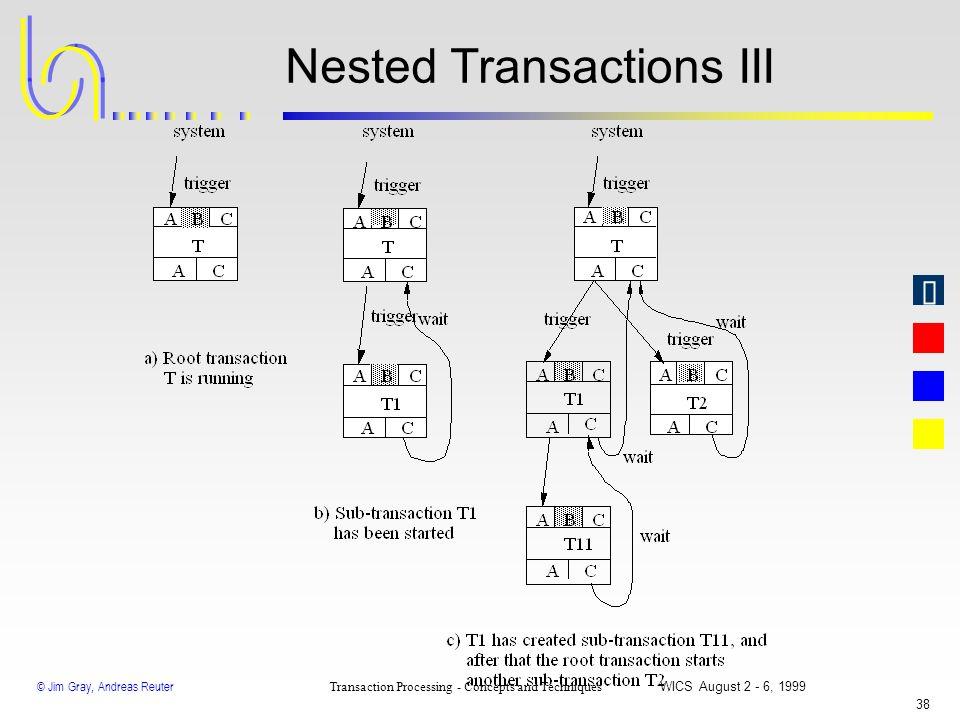 Nested Transactions III