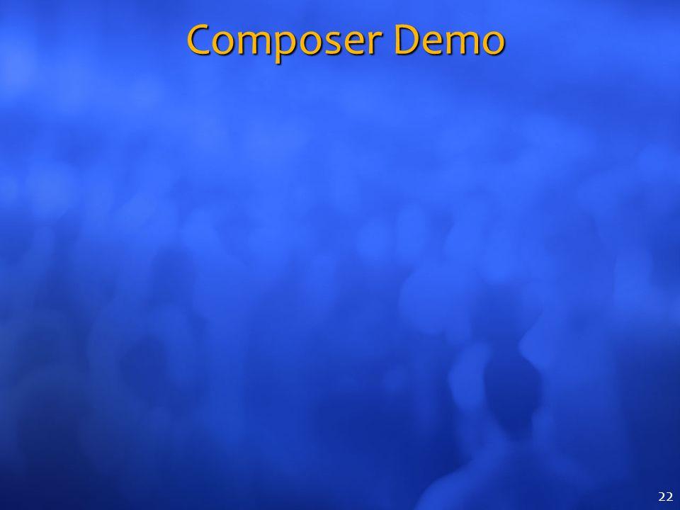 Composer Demo