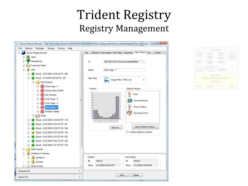 Trident Registry Registry Management