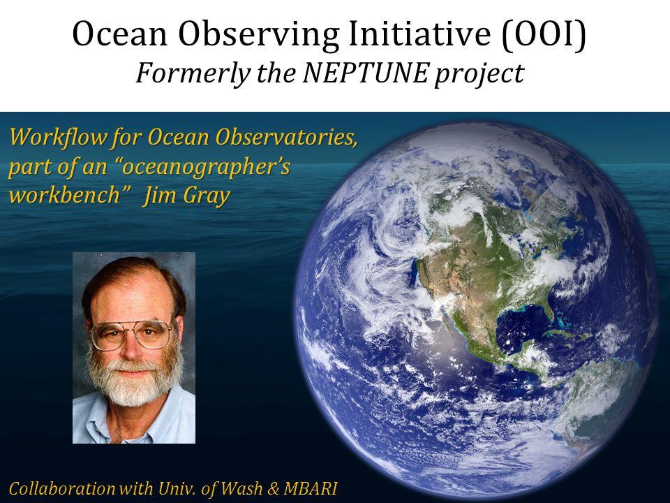 Ocean Observing Initiative (OOI)
