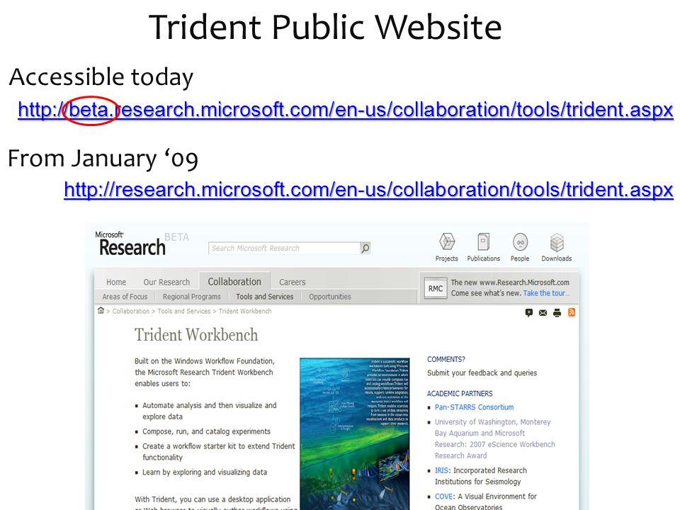 Trident Public Website