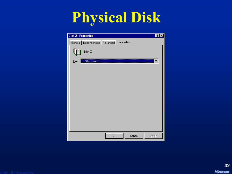 Physical Disk