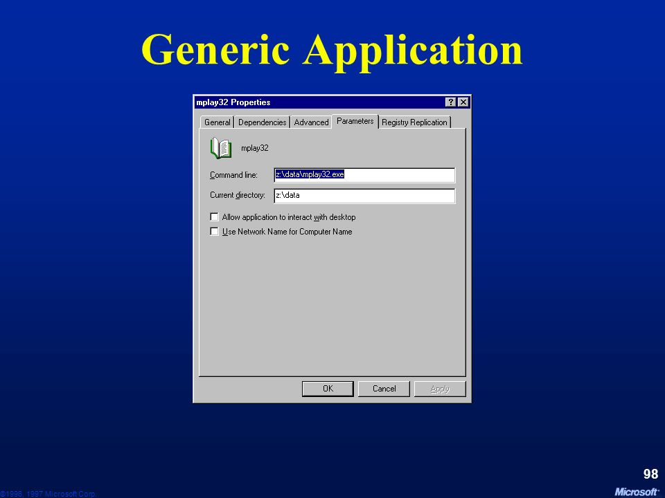 Generic Application