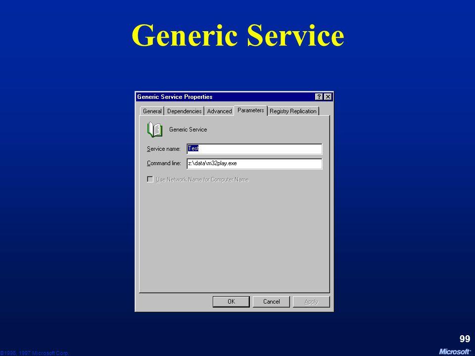 Generic Service