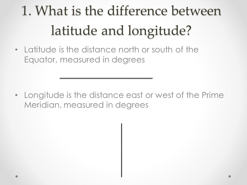 what is the relationship between latitude longitude and climate