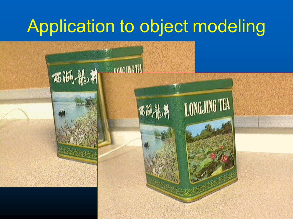 Application to object modeling