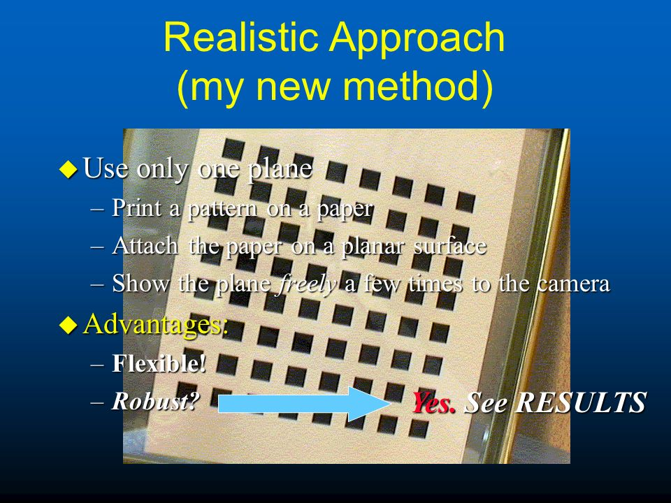 Realistic Approach (my new method)