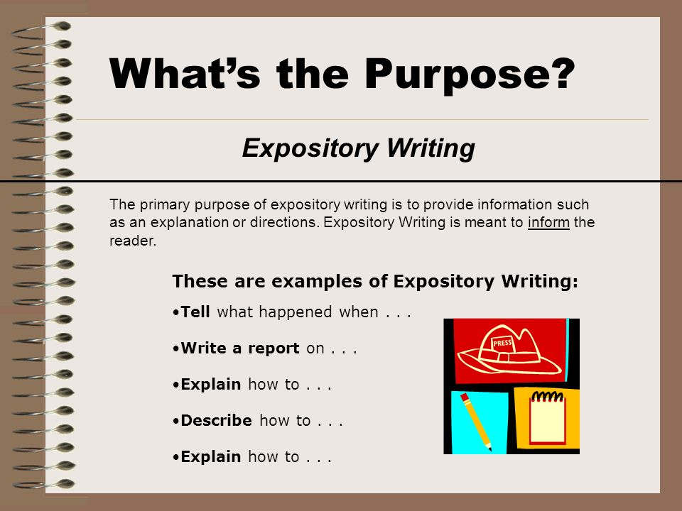 Difference in expository essays and business communication