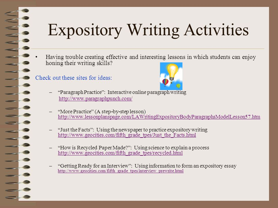 Expository essay topics for college students