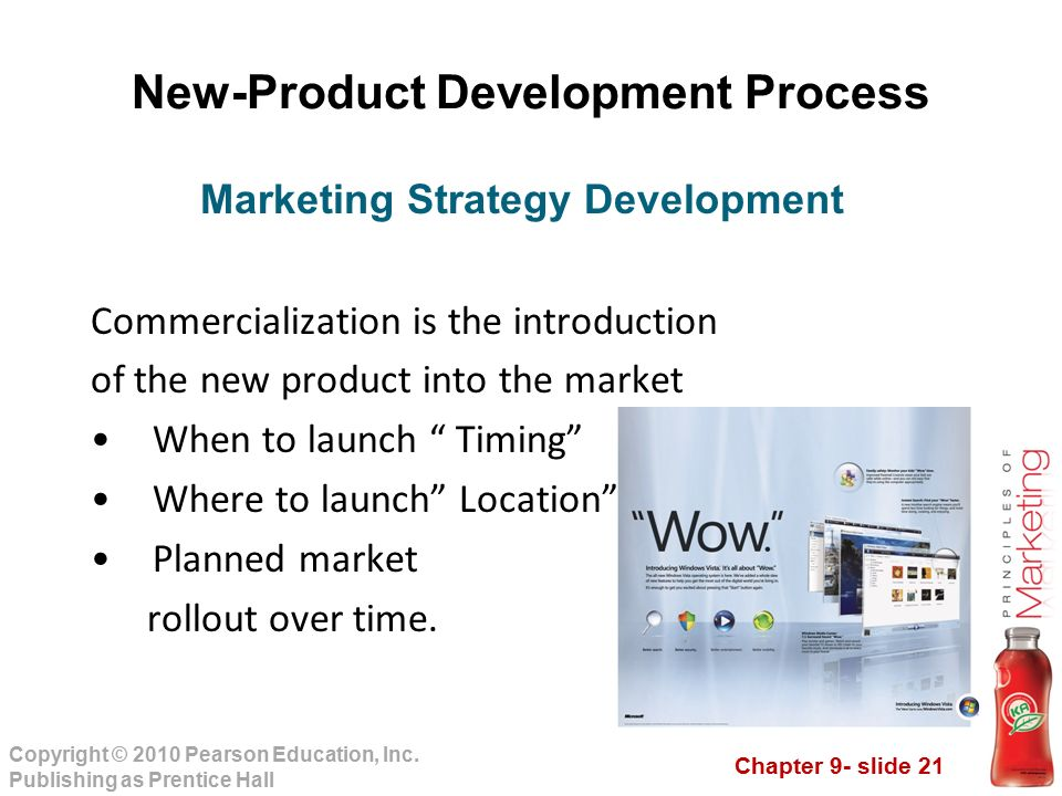 new product development and commercialisation The research on research and development (r&d) networks is plentiful but  network relations in commercialization of innovations attract surprisingly little.